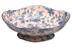 "12"" Scalloped Porcelain Bowl: strangely attracted to this"