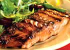 Firecracker Grilled Alaskan Salmon at allrecipes.com  Spicy and flavorful.  It tastes great broiled or baked too.