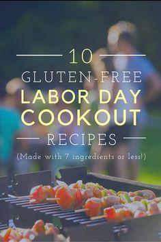 10 Gluten-Free Labor Day Cookout Recipes - EasyGlutenFreeRecipes.com