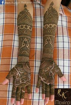 Browse the latest Mehndi Designs Ideas and images for brides online on HappyShappy! We have huge collection of Mehandi Designs for hands and legs, find and save your favorite Mehendi Design images. Indian Mehndi Designs, Latest Bridal Mehndi Designs, Full Hand Mehndi Designs, Mehndi Designs 2018, Mehndi Designs For Girls, Wedding Mehndi Designs, Beautiful Henna Designs, Mehndi Designs For Fingers, Mehandi Designs