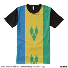 Saint Vincent and the Grenadines All-Over Print T-Shirt
