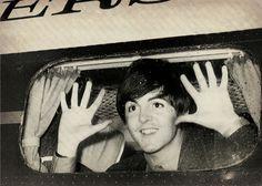 """Hey there, little children."" - Paul McCartney"