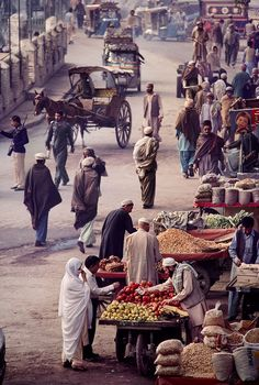 Just across the border in Peshawar,probably in the late 70's.........
