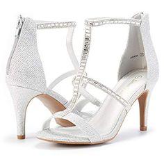 f8014bece1b1 Women s Dolce Fashion Stilettos Open Toe Pump Heel Sandals  Unique shoes  heels  shoes  Classy mid heels bridal shoes  Jimmy Choo  Stilletos bridal shoes ...