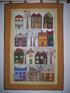 Hoo boy. Homespun houses and button trees.
