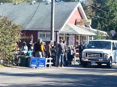 While heading to The Viewpoint Inn today we came across a filming crew and found out that it was for the movie The Wild with Reese Witherspoon. She acquired the film rights to the movie and stars in the movie herself. The author of the book Cheryl St