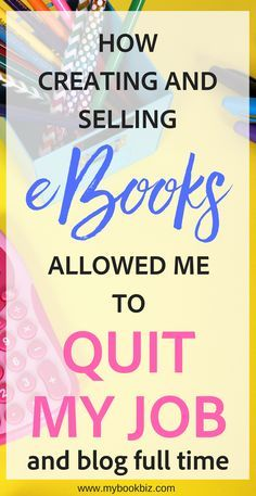 I started creating and selling my own eBooks back in 2004, and was soon able to quadruple my teaching salary.  Find out how I was able to create passive income from eBooks, quit my teaching job, and become a full time blogger. Start A Blog | Make Extra Income | Passive Income | Blogging Tips