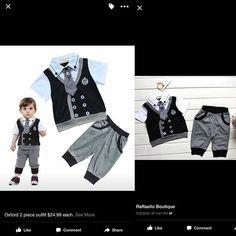 Oxford 2 piece #grey #elegant #black #tie #tuxedo #stylish #wedding #spring $24.99 each