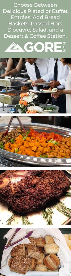 Gore Mountain Weddings Catering for any budget, taste, with experienced attention to detail .