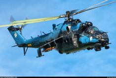 Czech - Air Force – Mil Mi-24V Hind 7358 Attack Helicopter, Military Helicopter, Military Aircraft, Mi 24 Hind, Aircraft Painting, Blade Runner, Military Art, Airplane, Air Force