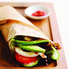 Let's Brunch: Spicy Egg and Avocado Wrap (March/April 2015 issue)