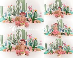 Caitlin first birthday session birthday photos cake smash cactus theme birthday session cactus theme cake smash session cactus background simple set up Melzphotography Belleville NJ photographer Smash Cake First Birthday, First Birthday Party Themes, Birthday Party Decorations Diy, Baby Girl First Birthday, Twin Cake Smash, Cake Smash Photos, 1st Birthday Photoshoot, 1st Birthday Pictures, First Birthdays