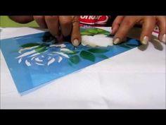 Stencil OPA - 12/02/16 - Mayumi Takushi - Rosas Porcelanizadas - YouTube