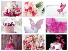 Pink Butterfly mood board