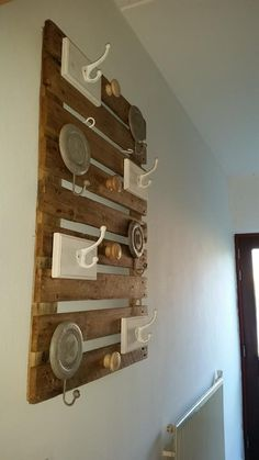 Pallets Wooden Hanging Wall Shelf
