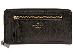Kate Spade Chester Street Neda Clutch Wallet WLRU2654 Black