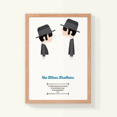 Illustration The Blues Brothers quote. Movie quote. Print Art decor Print Wall art, Hanging wall Printed art, Bedroom Decor home Gift idea by MadCatFineArt on Etsy