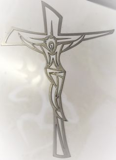 A personal favorite from my Etsy shop https://www.etsy.com/listing/260712828/jesus-on-cross-metal-wall-art-decoration