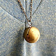 Vintage Ball Locket now featured on Fab.