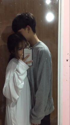 Cute Relationship Goals, Cute Relationships, Ulzzang Couple, Ulzzang Girl, Future Boyfriend, Boyfriend Girlfriend, Cute Korean, Korean Girl, Couple Avatar