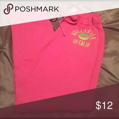 Hollister Sweat Pants Hollister Sweat Pants - Pink Hollister Pants Track Pants & Joggers