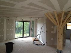 Platrerie du plafond