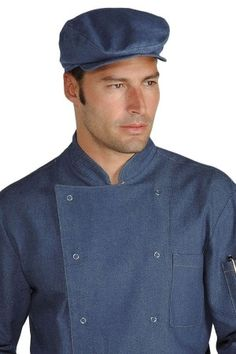 Cappello Modello Coppola uomo donna Ristorazione Eventi In Jeans Work Fashion, Jeans, Shirt Dress, Chef, Mens Tops, Shirts, Outfits, Google, Dresses