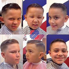 slick haircuts with quiffs
