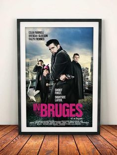 In Bruges 2008 Movie Film Poster Quality Photo Prints, Photo Quality, Brendan Gleeson, Film Poster, Movie Posters, Movie Prints, Study Office, Movie Film, Bruges