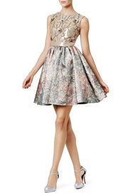 Bold Baroque Dress by Marchesa Notte