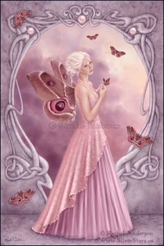 Birthstones - Pearl - fairies Photo