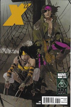X 23 comic issue 7
