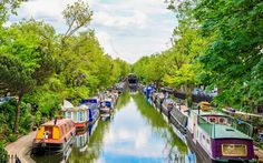 Fancy stretching your legs and exploring the city at the same time? Grab your trainers and explore seven of the loveliest walks the capital has to offer, from the Thames Path to the Parkland Walk Days Out In London, Walks In London, Things To Do In London, Lonely Planet, Little Venice London, Thames Path, Regents Canal, Destinations, Viajes