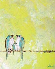 Mama Bird, Papa Bird & Baby Bird