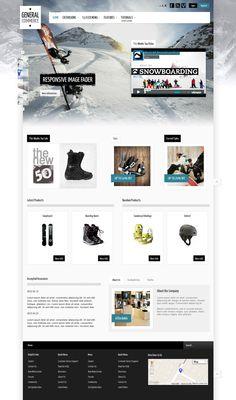 General Commerce Joomla eCommerce Store Template