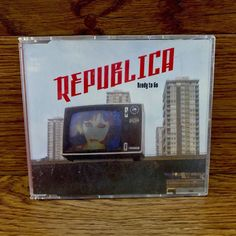 Republica Ready To Go Cd songs music tracks compact disc in case Cds For Sale, Compact Disc, Deconstruction, Ready To Go, Hard Rock, My Ebay, Songs, Music, Shop