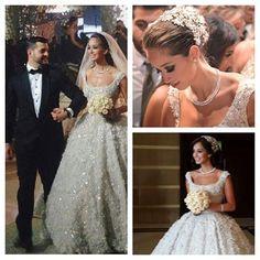 Lana El Sahely and Ali Awada's Wedding - Arabia Weddings