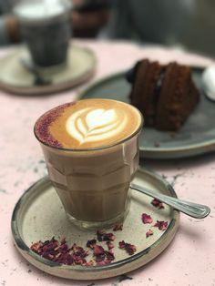 Valentines Gift Guide for Him & Her,  - rose Latte, The Farm Girl Cafe, Kensington
