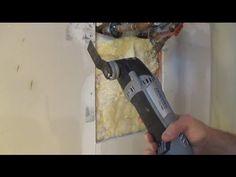 Dremel MM480 Wood Flush Cut Blade - YouTube