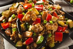 Welcome to my Slimming World BEST EVER Chinese Chicken in the Slow Cooker.