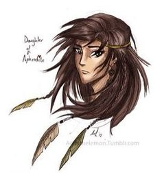 Please follow my friend Piper McLean! This is her profile picture. Her Heroes of Olympus board is awesome! So is her TMI and SOLANGELO one.
