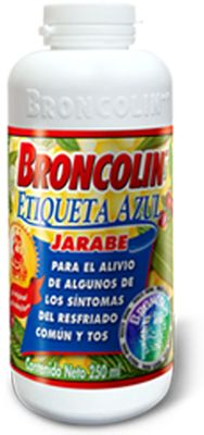 Broncolin - Natural, herbal cold and cough remedy. Dump some in your tea! Awesome stuff!