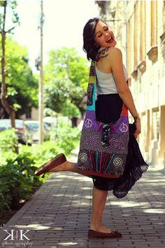 Geanta din Nepal cu impletituri - COOL Nepal, Handmade Bags, Shoulder Bag, Fashion, Embroidery, Moda, Handmade Handbags, Fashion Styles, Shoulder Bags