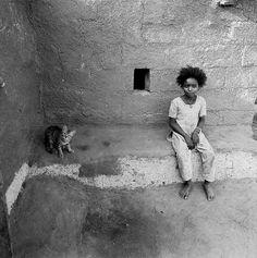 Girl with cat, Jambur, 2005