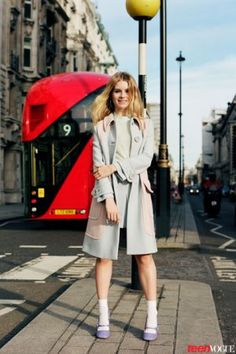 #Lottie #Moss für Teen #Vogue   #Fashion Insider Magazin