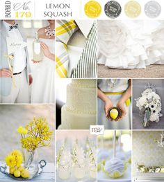 Mostly because I just LOVE that yellow and gray tie...want it for my wedding.