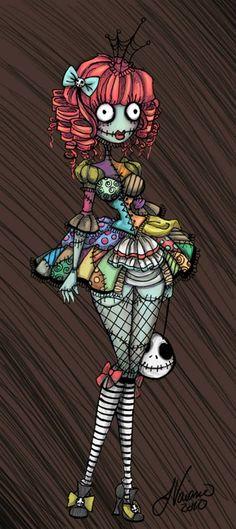 pin up sally!! the nightmare before christmas!! i love halloween
