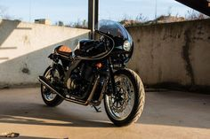 The Best! Suzuki GS500 Cafe Racer by H2 Moto #motorcycles #caferacer #motos | caferacerpasion.com