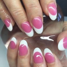Want a fun summer manicure but think pink nail designs aren't your thing? Miss Nail Addict, listen up. Pink isn't what you remember from your very first manicure. Gel French Manicure, French Acrylic Nails, Pink Acrylic Nails, Acrylic Nail Art, Gel Manicure, Acrylic Nail Designs, French Nails, Manicures, Pink Nails