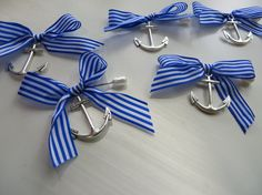 Nautical BoutonniereWedding Boutonniere Anchor by thefavorstation, $22.45
